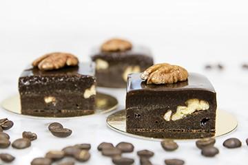 Kaffekaka med pecannötter