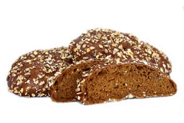 Malt & Chia bread with apple and cinnamon