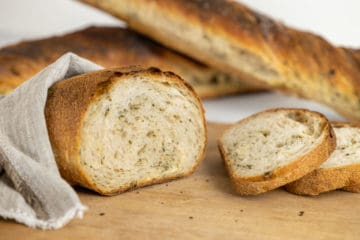 Pane Maggia Bianco with Ramson